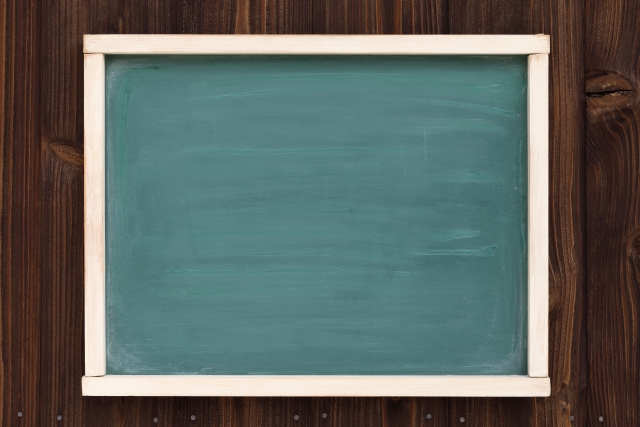 看板に黒板を使うときのコツをご紹介!おしゃれに書く方法