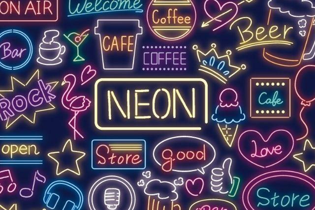 ネオンサインの看板でデザインやインテリアが映える!
